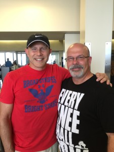 With one of my very best friends--Pastor Chuck O'Neal of Beaverton Grace Bible Church (Beaverton, OR).