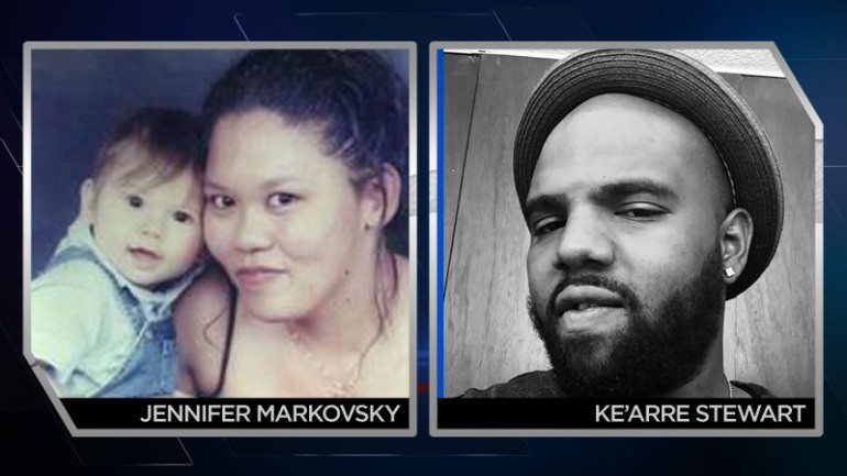 Jennifer Markovsky, 35, and Ke'Arre Stewart, 29, were allegedly murdered by Richard Lewis Dear, 57, at the Planned Parenthood in Colorado Springs (CO). Both Markovsky and Stewart had accompanied friends to the abortuary.