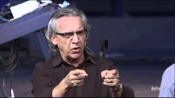 "False teacher, Bill Johnson, leader of the Bethel Redding ""signs and wonders"" cult and false ""super apostle"" in the New Apostolic Reformation"
