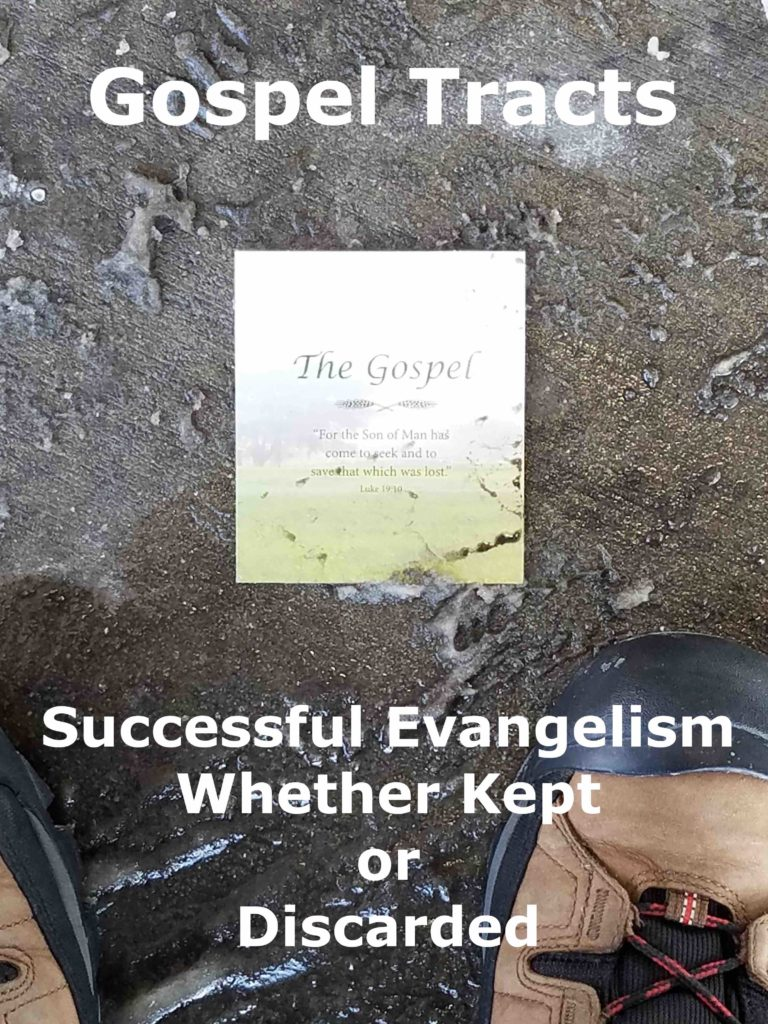Title Image: Successful Evangelism Whether Kept or Discarded