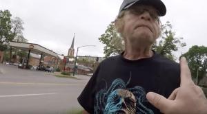 Man who assaulted Tony outside the Emma Goldman abortuary
