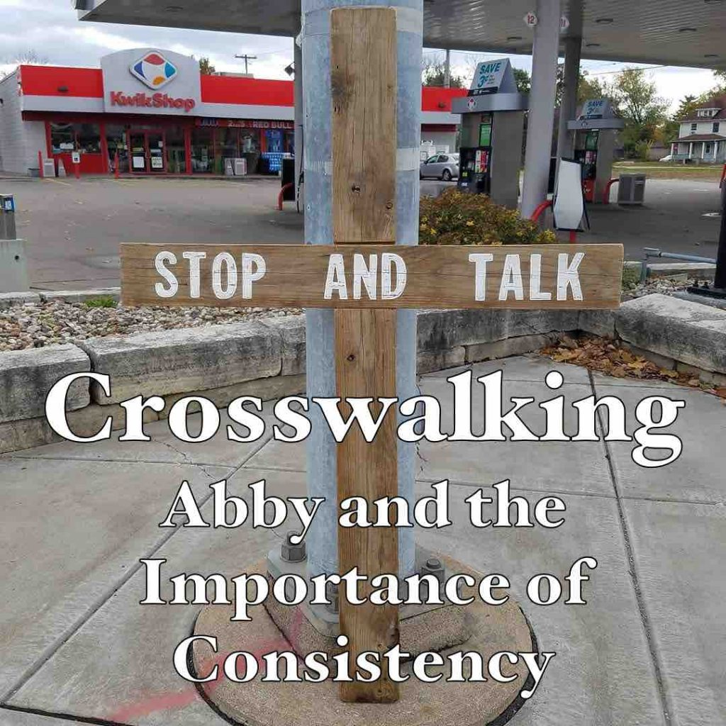 Crosswalking: Abby and the Importance of Consistency