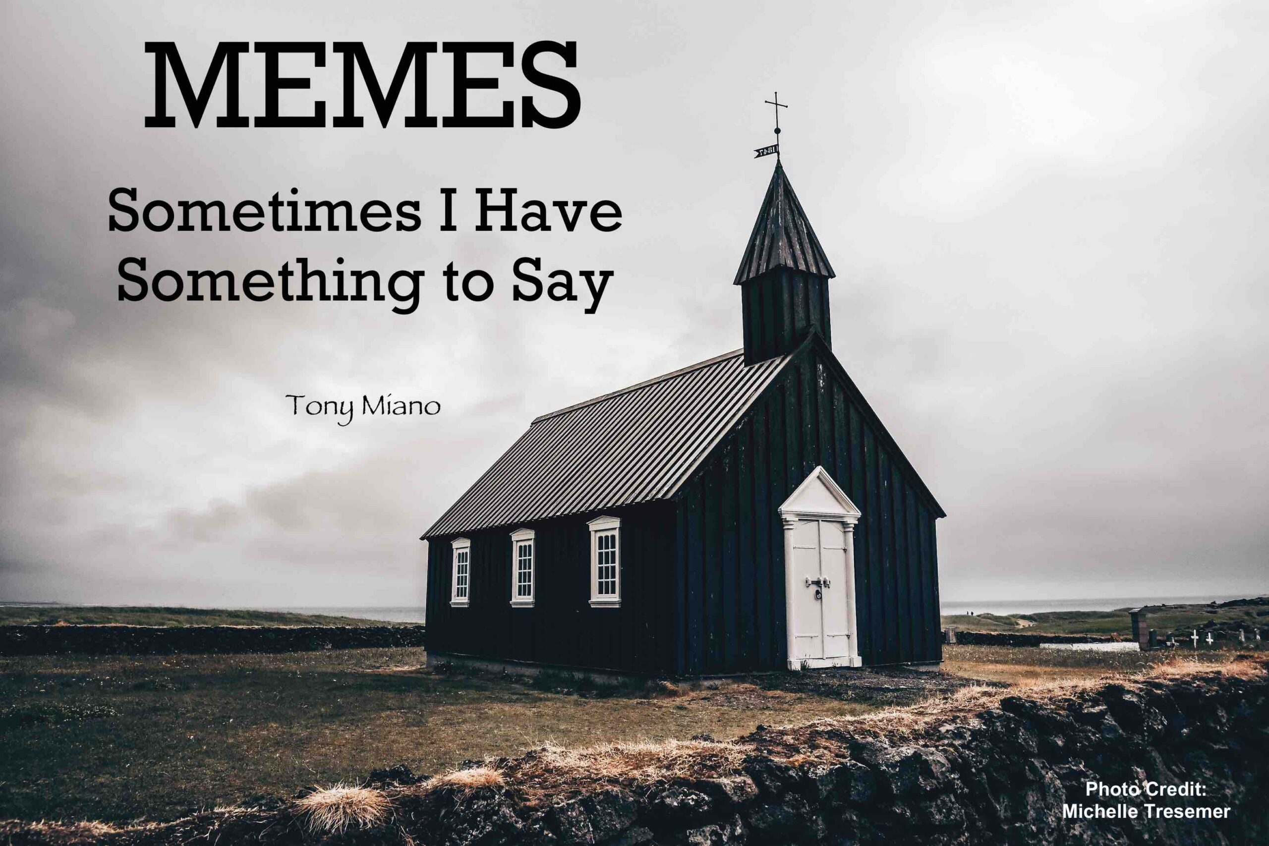 Memes: Sometimes I Have Something to Say