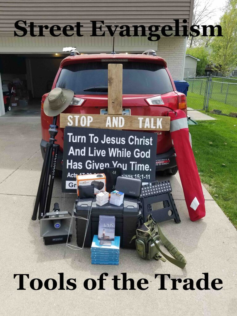 Title Image: Street Evangelism--Tools of the Trade