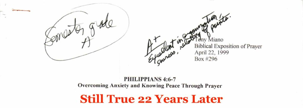 Still True: Overcoming Anxiety and Knowing Peace Through Prayer